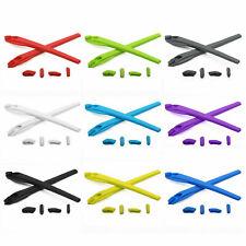Kit De Silicona papaviva Calcetines del oído & Nariz Piezas de Recambio para Oakley Flak 2.0