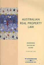 Australian Property Law by Adrian J. Bradbrook, Anthony Moore, Susan MacCallum …