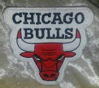 """Chicago Bulls 3.5"""" Iron On Embroidered Patch~USA~FREE Ship"""