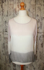 Silk Blend Scoop Neck Other Tops & Shirts for Women