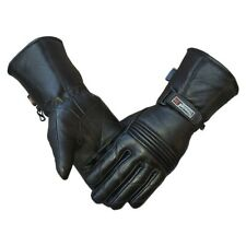 Men's Motorbike Gloves Cold Weather Motorcycle Riding Glove Genuine Leather auk
