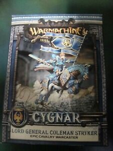 Warmachine-Cygnar-Lord General Coleman Stryker-Epic Cavalry Warcaster