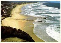 Postkarte Südafrika ~1970 Leentjiesklip Beach Strand Afrika Postcard S. Africa