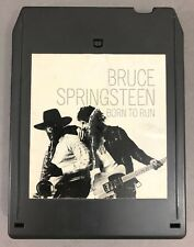"""BRUCE SPRINGSTEEN """"BORN TO RUN"""" 1975 USA 8 TRACK TAPE REFURBISHED! NEW PAD/FOIL!"""