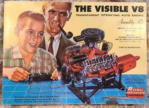 Renwal visible v8 engine