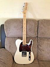 2014 Fender Telecaster USA White With Maple, Stunning, Looks Unused