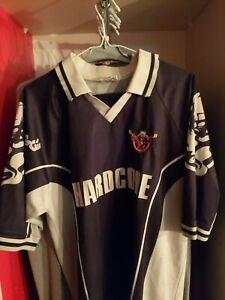 Vintage 90 s Thunderdome  T-shirt TRES RARE football couleur noir