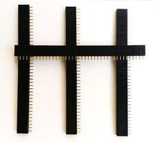 15 Pcs 40Pin 2.54mm Single Row Straight Female Pin Header Strip PBC Ardunio