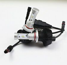 Pair 9006 HB4 160W 16000LM White 6000K LED Headlight Bulbs Light