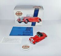Dinky 1/43 Scale - DY-S 17 1939 Triumph Dolomite Red Diecast Model Car