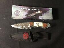 "Chief Cut A Trail 8"" Fixed Blade Knife"