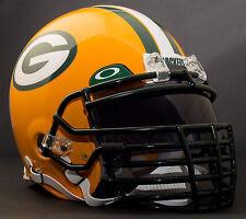 ***CUSTOM*** GREEN BAY PACKERS NFL Riddell ProLine AUTHENTIC Football Helmet