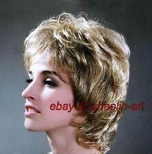 Blonde Femmes Derniers Mode Courtes Cheveux Perruque.+ gratuit hairne