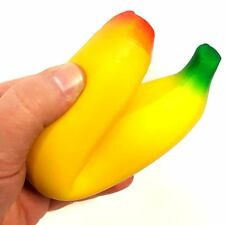 Squidgy Banana Toy - Squeezy Stress Toy Sensory