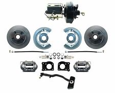 1967-69 Ford Mustang OE Style Power Disc Brake Conversion Kit, Autos Only