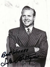 AMERICAN ACTOR LYLE BETTGER HAND SIGNED 9 1/2 x 7 PHOTOGRAPH
