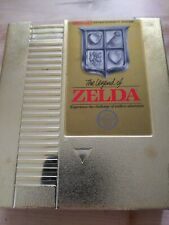 Vintage Nintendo  NES Legend of Zelda Gold Game Cartridge