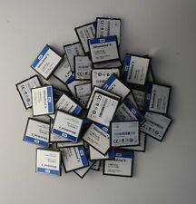 Lot of 45 Silicon Drive 1GB SSD-C01GI-4600 Compact Flash CF Memory Card