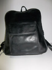Vintage Tandi Black Leather Backpack - Gorgeous!