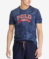 Men's SZ M Polo Ralph Lauren 1967 Classic Navy Camo Performance T-Shirt  NWT