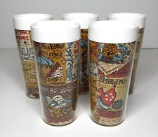 5 Vintage West Bend Thermo Serv? Insulated Tumblers Cups