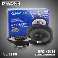 "Brand New Kenwood KFC-HQ718 7x10"" Car Speakers Peak 320 watts RMS 80 watts"
