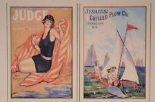 Set of 2 RARE Very Nice FRENCH POSTERS ART PRINTS Fits 8