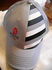 Beijing China 2008 Summer Olympic Games Embroidered Baseball Style Hat Cap Grey