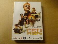 3-DISC DVD BOX / CSI: MIAMI - SEIZOEN 6 - AFLEVERINGEN  6.1 - 6.11 ( DEEL 1 )