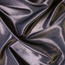 "Plain Silver Grey Silky Taffeta Fabric Weddings 60"" P/M"