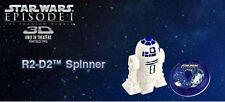 R2D2 Spinner Toy STAR WARS Episode I 3D 2012 McDonald's Toy NIP