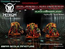 Hitech Miniatures - 28SF016 Alpha Corporis Five 28mm Warhammer 40k 40000