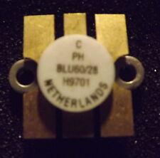 Transistor RF BLU60/28 60 Watt a 470 MHZ Philips originale