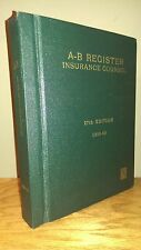 Limited-Run Vintage 1950's Register of Attorneys - single digit phone numbers