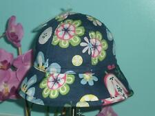 Gap Floral Sun Hat Size Up to 6 Months (Preemie) NWT