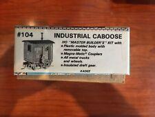 Ho Industrial Caboose