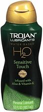 Trojan Lubricants H2O Sensitive Touch Water Based Lubricant 5.5 oz