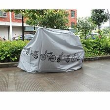 Polyester Waterproof Bike Bicycle Cover Color Grey FREE SHIPPING