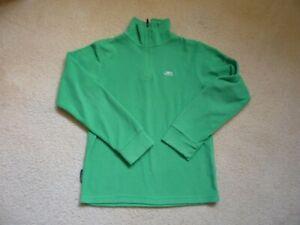Boys Green Trepass fleece 7-8 years