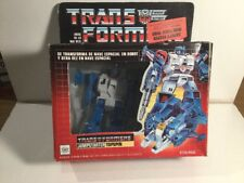 Vintage 1980s G1 Transformers Jumpstarter Topspin Boxed Mexican Version