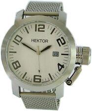 Héctor u Boot made in Germany reloj hombre XL 45mm milanaiseband kronenschutz 100m