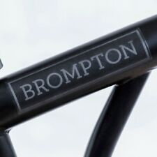 Brompton Main frame Decal Black Edition