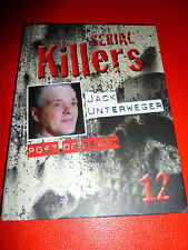 SERIAL KILLERS BOOK + DVD NO. 12 JACK UNTERWEGER POET OF DEATH