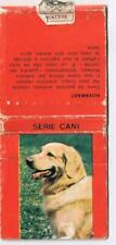 Matchbook Cover Hovawart Dog Italian