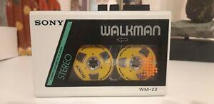 VINTAGE SONY WM-22 WALKMAN IN GOOD CONDITION