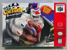 Clay Fighter Sculptor's Cut (Nintendo 64 | N64) Authentic BOX ONLY Very Rare!