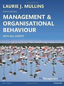 Management and Organisational Behaviour by Mullins, Laurie J. Book The Cheap