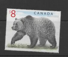 Canada 1997 $8 Bear used postage stamp ref 2
