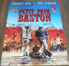 PETIT PAPA BASTON - Terence Hill / Bud Spencer AFFICHE 60CM/80CM D'ÉPOQUE (1994)