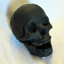 Fire Brick Ceramic Skull - Black